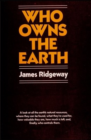 Who Owns The Earth Book Cover