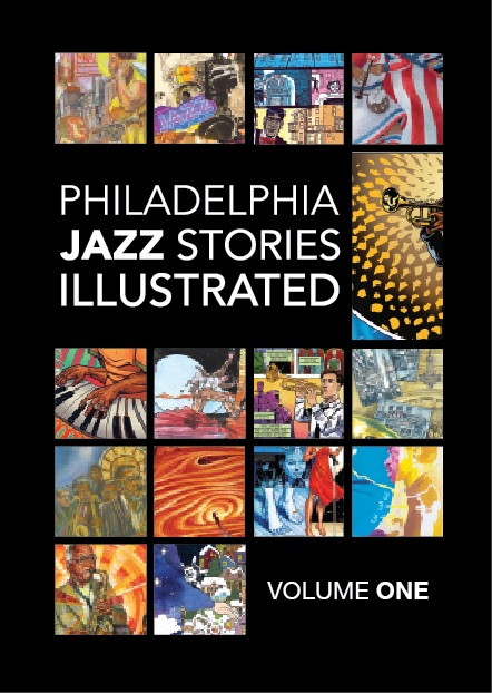 Phila Jazz Stories Illustrated Book Cover