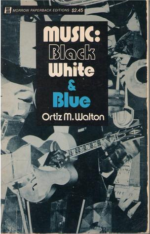 Music: Black White & Blue Book Cover