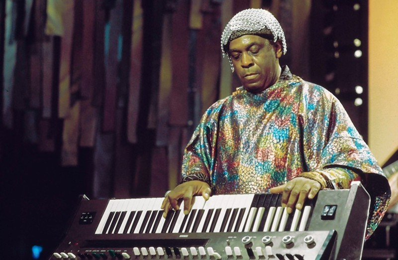 Sun Ra At Keyboard - 1