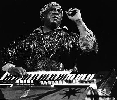Sun Ra At Keyboard - 2